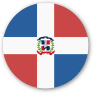 Emoji One Wall Icon The Dominican Republic Flag