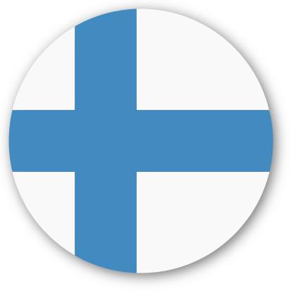 Emoji One Wall Icon Finland Flag