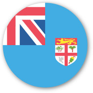 Emoji One Wall Icon Fiji Flag