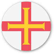 Emoji One Wall Icon Guernsey Flag