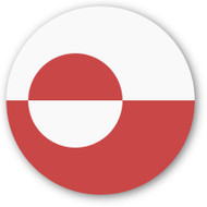 Emoji One Wall Icon Greenland Flag