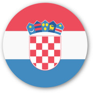 Emoji One Wall Icon Croatia Flag