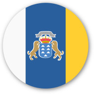Emoji One Wall Icon Canary Islands Flag