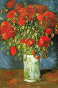 Red Poppies by Vincent Van Gogh