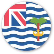 Emoji One Wall Icon British Indian Ocean Territory Flag