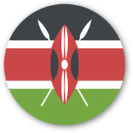Emoji One Wall Icon Kenya Flag