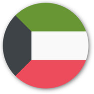 Emoji One Wall Icon Kuwait Flag