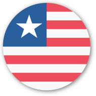 Emoji One Wall Icon Liberia Flag