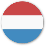 Emoji One Wall Icon Luxembourg Flag
