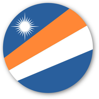 Emoji One Wall Icon The Marshall Islands Flag