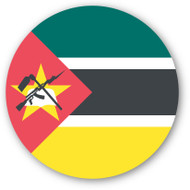 Emoji One Wall Icon Mozambique Flag