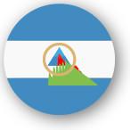 Emoji One Wall Icon Nicaragua Flag