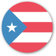 Emoji One Wall Icon Puerto Rico Flag