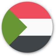 Emoji One Wall Icon Sudan Flag