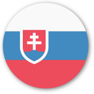 Emoji One Wall Icon Slovakia Flag