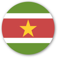 Emoji One Wall Icon Suriname Flag