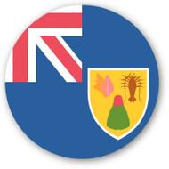 Emoji One Wall Icon Turks And Caicos Islands Flag