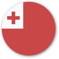 Emoji One Wall Icon Tonga Flag