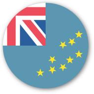 Emoji One Wall Icon Tuvalu Flag