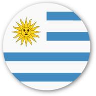 Emoji One Wall Icon Uruguay Flag