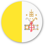 Emoji One Wall Icon The Vatican City Flag