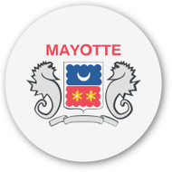 Emoji One Wall Icon Mayotte Flag