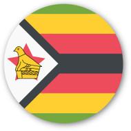 Emoji One Wall Icon Zimbabwe Flag