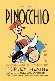 Federal Theatre Pinocchio at Copley Theatre