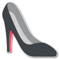 Emoji One Smileys & People Wall Icon: High-Heeled Shoe