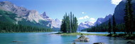 Standard Photo Board: Maligne Lake Alberta Canada - AMER