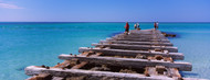 Standard Photo Board: Old Pier Coquina Beach Anna Maria Island - AMER