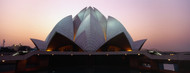 Standard Photo Board: Lotus Temple Delhi at Dusk - AMER
