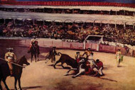 Bullfight by Manet