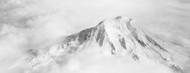 Standard Photo Board: Aerial View of Mt Rainier - AMER