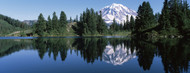 Standard Photo Board: Reflection of Mt Rainier in Lake - AMER