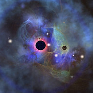 Beautiful Stars Black Holes And Nebulae