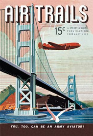 Air Trails Magazine Cover Golden Gate Bridge