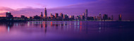 Extra Large Photo Board: Chicago Skyline from Lake Michigan - AMER - INDY