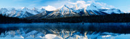 Extra Large Photo Board: Herbert Lake Banff National Park Alberta - AMER - INDY