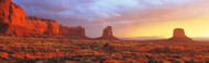 Extra Large Photo Board: Sunrise Monument Valley Arizona - AMER - INDY