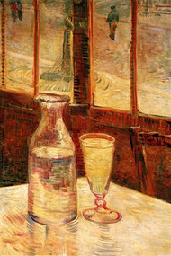 Still Life With Absinthe Van Gogh