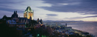 Standard Photo Board: Chateau Frontenac at Dusk Quebec City - AMER