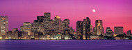Standard Photo Board: Boston Skyline at Night - AMER