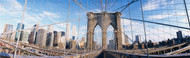 Extra Large Photo Board: Railings Brooklyn Bridge - AMER - INDY