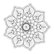 Eden Art Therapy Coloring Graphic: Bloom