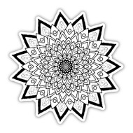 Eden Art Therapy Coloring Graphic: Radiance