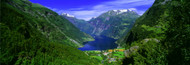Extra Large Photo Board: Geirangerfjord Norway - AMER