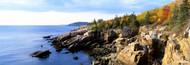 Extra Large Photo Board: Rock Formation Seaside Acadia National Park - AMER