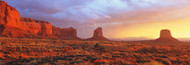 Extra Large Photo Board: Sunrise Monument Valley Arizona - AMER