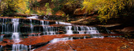 Standard Photo Board: Waterfall in North Creek Zion National Park - AMER